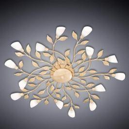 Florentiner-Deckenleuchte LED Jela weiß antik