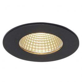 SLV Patta-I LED-Einbauleuchte rund, schwarz matt