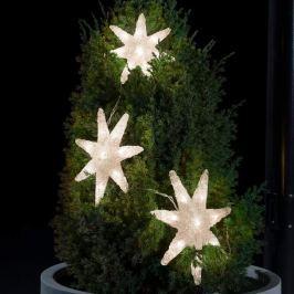 Attraktiv gestaltete LED-Lichterkette Sterne