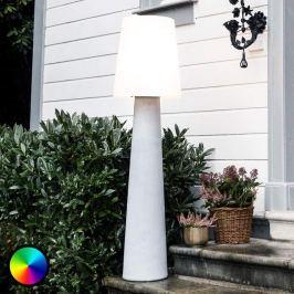 LED-Stehlampe No. 1 für die Terrasse, stein