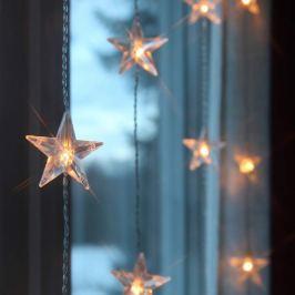 Lichtervorhang Star LED 5 Stränge 30-flg.