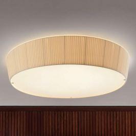 Bover Plafonet 95 - Textil-Deckenlampe, Band creme
