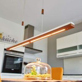 Zweischichtige LED-Hängeleuchte Elna - 118 cm lang