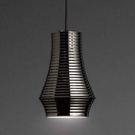 Bover Tibeta 01 - LED-Hängeleuchte, chrom-schwarz