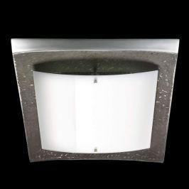 Gewölbte LED-Deckenleuchte Shine Alu