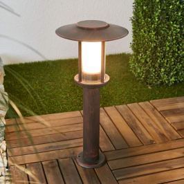 LED-Sockellampe Pavlos in Rost