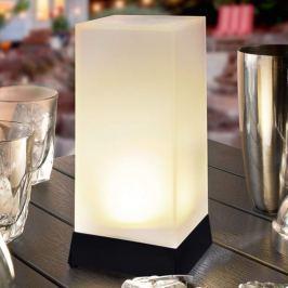High Cube - dekorative LED-Solartischleuchte