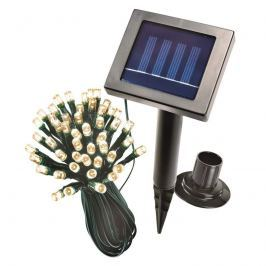 48-flammige LED-Solar-Partylichterkette