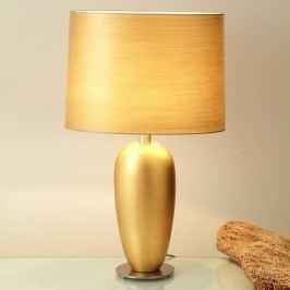 Klassische Tischleuchte EPSILON gold, Höhe 65 cm