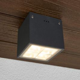 Bega - eckige LED-Deckenleuchte Gunnar IP65