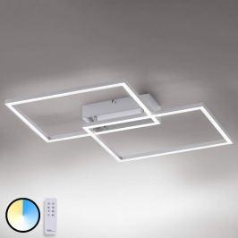 Funktionale LED-Deckenleuchte Iven m Fernbedienung
