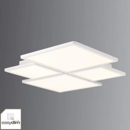 Vierflammige Easydim-LED-Deckenleuchte Scope