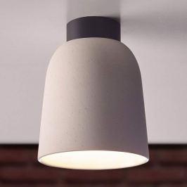 Casablanca Clavio Keramik-Deckenlampe in Cremeweiß