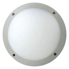 Stabile LED-Deckenleuchte Fonda, rund, silber