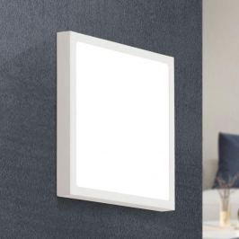 LED-Deckenlampe Vika in quadratischer Form, 23 cm