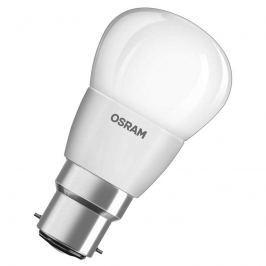 LED-Tropfenlampe B22d 5W, warmweiß, dimmbar