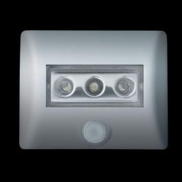 OSRAM Nightlux LED-Nachtlicht mit Sensor, silber