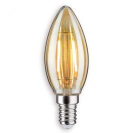 E14 2,5W 825 LED-Kerzenlampe gold