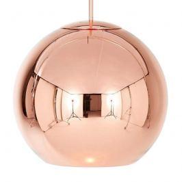Tom Dixon Copper Round - Kugel-Hängeleuchte 40cm