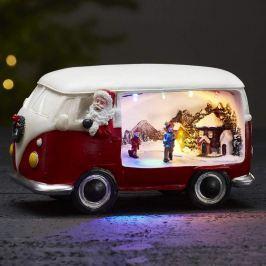 Dekoleuchte Merryville m. LED - Weihnachtsbus
