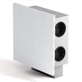 Power-Energiebox mit 3 Steckdosen u. 2 USB-Buchsen