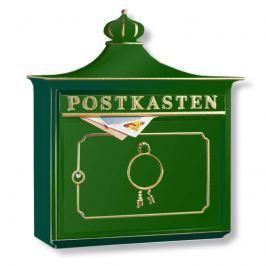 BORDEAUX Aluguss-Briefkasten, grün
