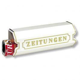 Aluguss Zeitungsbox 1890, weiß