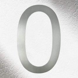 Hochwertige Hausnummern aus Edelstahl 0