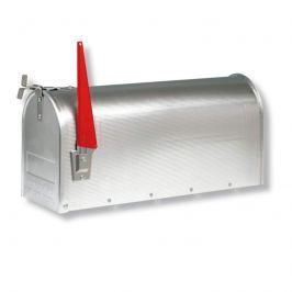 U.S. Mailbox mit schwenkbarer Fahne, alu