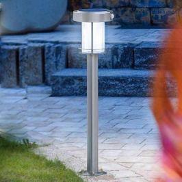 Ancona - LED Solarleuchte aus Edelstahl