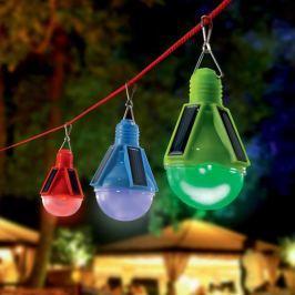 3er-Set Deko-Solarleuchten LED Partytime
