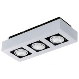 Aluminium-Deckenleuchte Loke mit LED
