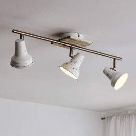 Filipina - 3-flg. LED-Deckenlampe im Vintage-Look