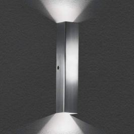 Dekorative LED-Wandleuchte Case Alu matt
