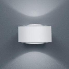 Helestra Flow - LED-Außenwandleuchte, mattweiß