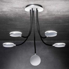 Holtkötter Flex D5 - LED-Deckenleuchte, schwarz