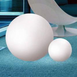 Große Leuchtkugel Oh für den Außenbereich, 75 cm