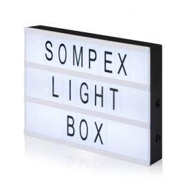 Dekorationsleuchte Light Box mit 80 Buchstaben