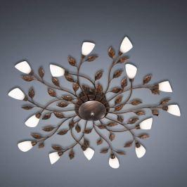 Florentiner-Deckenleuchte LED Jela rost-antik