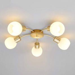 Elaina - LED-Deckenlampe in Messing, 5-flammig