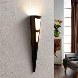 LED-Wandfackel Germo in Schwarz