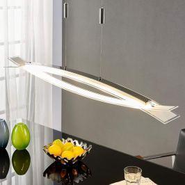 Elina - LED-Hängelampe mit gefrostetem Glasschirm