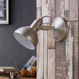 Attraktiver LED-Spot Tameo, nickel matt