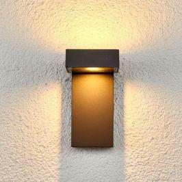 2-flammige LED-Außenwandlampe Toska