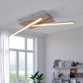 Geradlinige LED-Deckenleuchte Lenhard