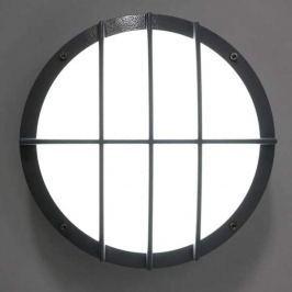 Aludruckguss Wandleuchte SUN 8 LED, 13W 3K Sensor