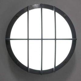 Aludruckguss Wandleuchte SUN 8 LED, 13W 4K Sensor