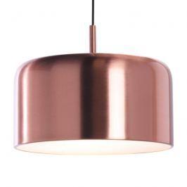 Pot - glänzende LED-Pendelleuchte Kupferschirm