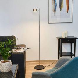 360 Grad drehbar - LED-Stehleuchte Pieno