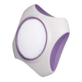 Guard - trendiges LED-Steckdosenlicht, lila-weiß